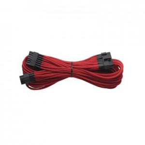 Corsair CP-8920136 Sleeved Modular 24pin ATX, 61cm, Red Cable