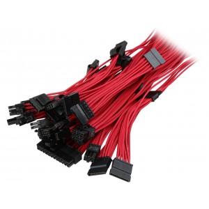 Corsair CP-8920152 Red Individually Sleeved Premium PSU Cable Kit