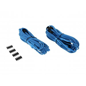 Corsair CP-8920180 Blue Premium Individually Sleeved PCIe Cables With Dual Connectors
