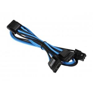 Corsair  CP-8920199  Blue/Black  Premium Individually Sleeved Peripheral Cable