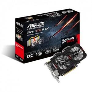 ASUS R7260X-DC2OC-1G RADEON R7-260X-1GB DDR5 PCI-E DC2OC DirectCU II OC