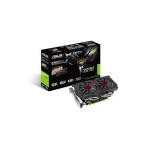 Asus STRIX-960-DC2OC Overclocked 2 GB DDR5 128-bit DisplayPort HDMI 2.0 DVI-I Graphics Card
