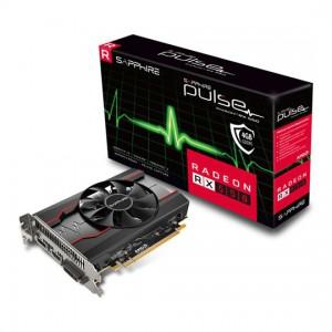 Sapphire 11268-01-20G Radeon Pulse RX 550 4GB GDDR5 HDMI / DVI-D / DP (UEFI) PCI-E Graphics Card