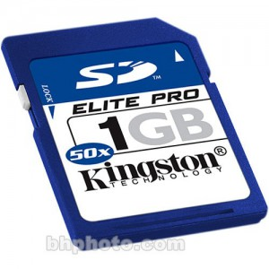 1Gb Kingston SD 50x Elit