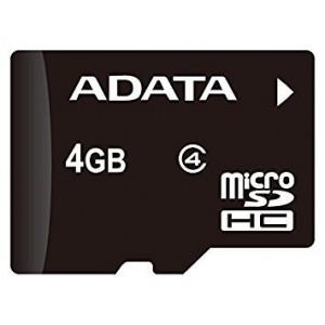 Adata 4G miCrosdHC c4 +adapt