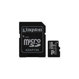 Kingston SDCIT/64GB SDCIT/64 GB microSDXC 64 GB UHS-I Class 10 Industrial Temperature Card + SD Adapter