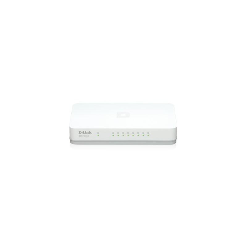 D LINK DGS 1008A GIGABIT 8 Port Unmanaged Switch