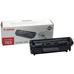 Canon  7616A005AA 703 Black Toner Cartridge