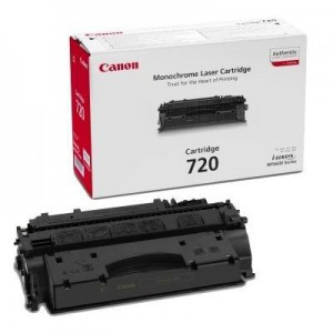 Canon 720 Black Laser Toner Cartridge with yield of 5000 pages