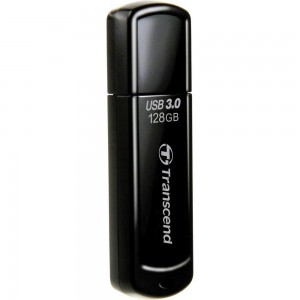 Transcend JetFlash™700 USB 3.0 Super Speed Compliant Flash Drive 128GB