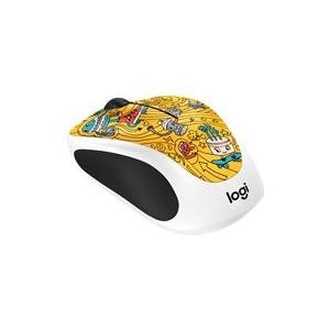 Logitech Wireless Mouse M238  Go Go Gold