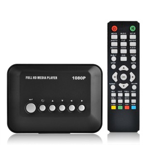 Blusmart® Multi TV Media Player with Remote Control (Full HD)