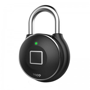 Tapplock One Smart Fingerpring Padlock - Silver