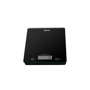 ASTRUM WS050 SCALE 5.0KG KITCHEN 4MM TOUCH BLACK