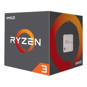 AMD RYZEN3 1200 3.1GHZ 4C AM4 CPU & WRAITH STEALTH FAN