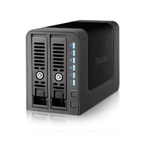 THECUS N2350 2-BAY SOHO NAS OS7 1GHz DUAL-CORE 1GB RAM