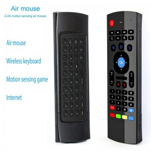 MX3-M Multi-function Air Mouse Mini Wireless Keyboard Infrared Remote Control
