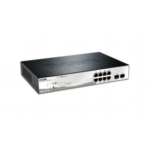 10-Port Gigabit Web Smart PoE Switch