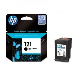 HP 121 Black Original Ink Cartridge CC640HE