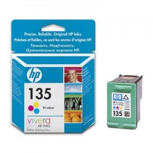 HP 135 Tri-color Original Ink Cartridge C8766HE