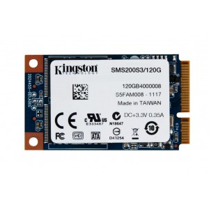 Kingston SMS200S3/120G  Digital 120GB SSDNow mS200 mSATA (6Gbps) Solid State Drive for Notebooks Tablets and Ultrabooks