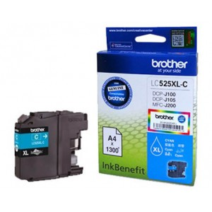 Brother High Yield  Cyan Ink Cartridge, LC535XLC DCPJ103