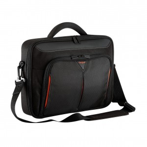 TARGUS - CLASSIC 15 - 15.6 CLAMSHELL CASE - BLACK/RED