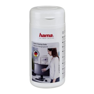 HAMA - SCREEN CLEANING CLOTHS 100 PIECES IN A DISPENSER