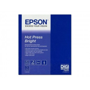 Epson C13S042333 Fine Art Hot Press Bright - Rag Paper