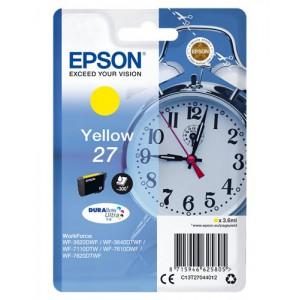 Epson Yellow 27 DURABrite Ultra Ink Cartridge