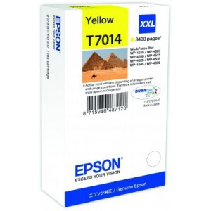 Epson  C13T70144010 Yellow Ink Cartridge (3400 pages)