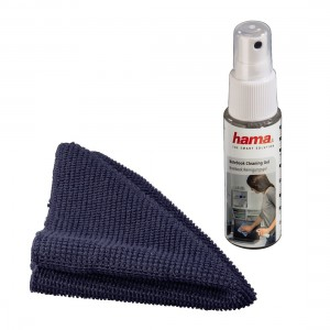 HAMA 39895 Notebook TFT Cleaning Gel + Cloth - Notebook Cleaning Kit