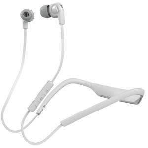 Skullcandy S2PGHW-177 In-Ear Wireless Headphones (White/Chrome)
