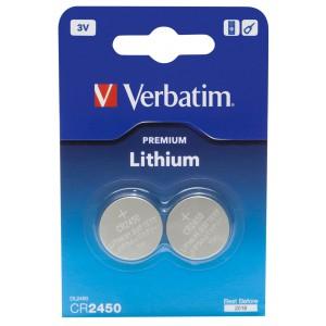 VERBATIM - CR2430 LITHIUM 3V 2 PACK