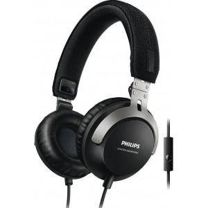 PHILIPS SHL3565 HEADPHONE W/MIC - BLACK