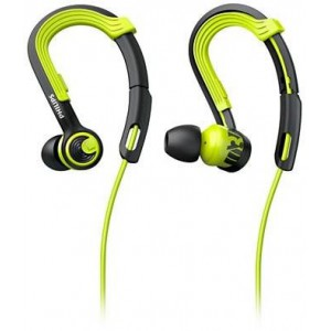 PHILIPS SHQ3400 ACTIONFIT Sports Headphones - BLACK/GREEN