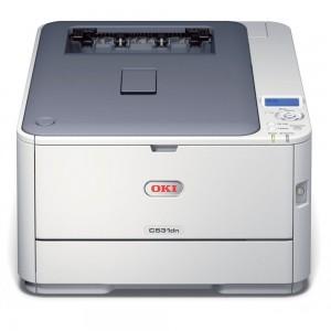 OKI C531dn - Print up to