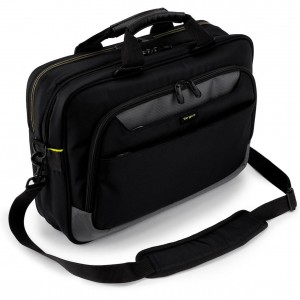 TARGUS - CITYGEAR 15.6 SLIM TOPLOAD LAPTOP CASE BLACK