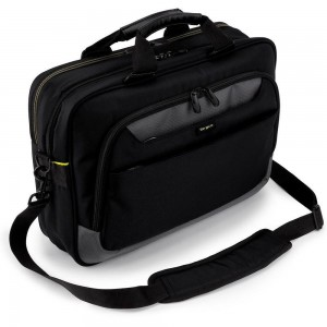 TARGUS - CITYGEAR 15-17.3 SLIM TOPLOAD LAPTOP CASE BLACK