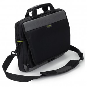TARGUS - CITYGEAR 12-14 SLIM TOPLOAD LAPTOP CASE BLACK