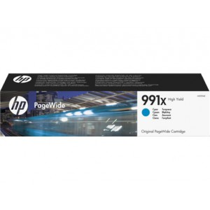 HP 991X High Yield Cyan Original PageWide Cartridge - PageWide Pro 750
