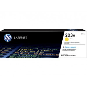 HP 203A Original Yellow LaserJet Toner Cartridge LJ Pro M254/MFP 280