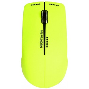 PORT WIRELESS MOUSE - NEON LIME + MOUSE PAD