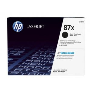 HP 87X High Yield Black Original LaserJet Toner M506/MFP M527 CARTRIDGE.