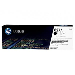 HP 827A CLJ M880 BLACK PRINT CARTRIDGE.