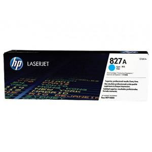HP 827A CLJ M880 CYAN PRINT CARTRIDGE.