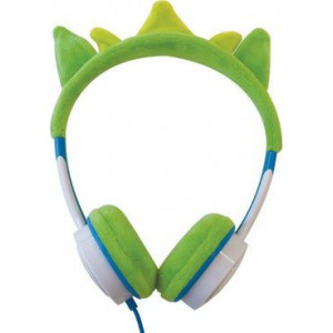 iFrogz LITTLE ROCKERZ COSTUME - HEADPHONES - GREEN DRAGON