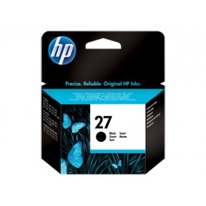 HP 27 INKJET Black Original Ink Cartridge CARTRIDGE.