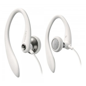 PHILIPS SHS3300WT EARHOOK HEADPHONE - WHITE