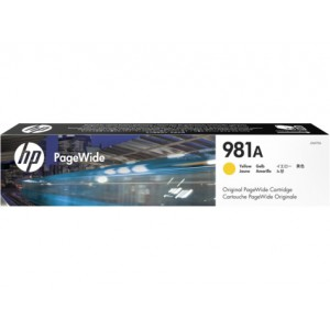 HP 981A Yellow Original PageWide Cartridge